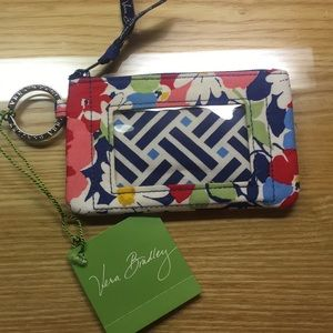Vera Bradley key chain ID case